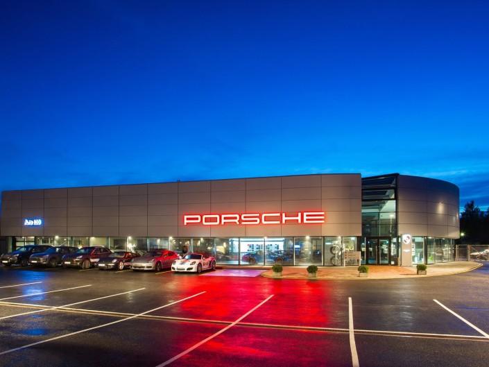 Porsche maja