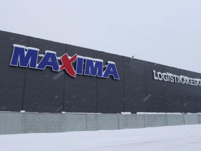 Maxima Logistikakeskus video