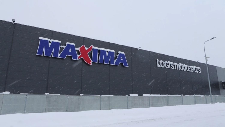 Maxima Logistikakeskus video