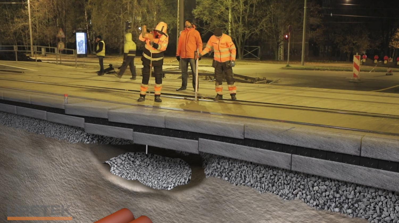 Uretek - Riga / tram railway