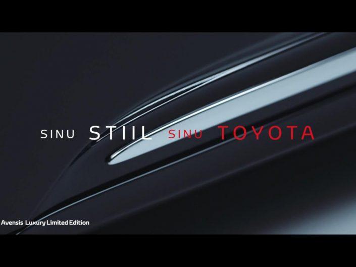 Toyota Avensis Luxury TVC 20sek EST