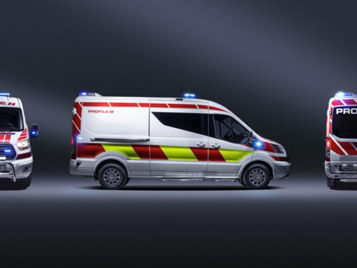 Ford Transit Profile Ambulance