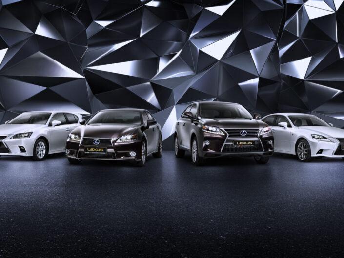 Lexus Hybrid range