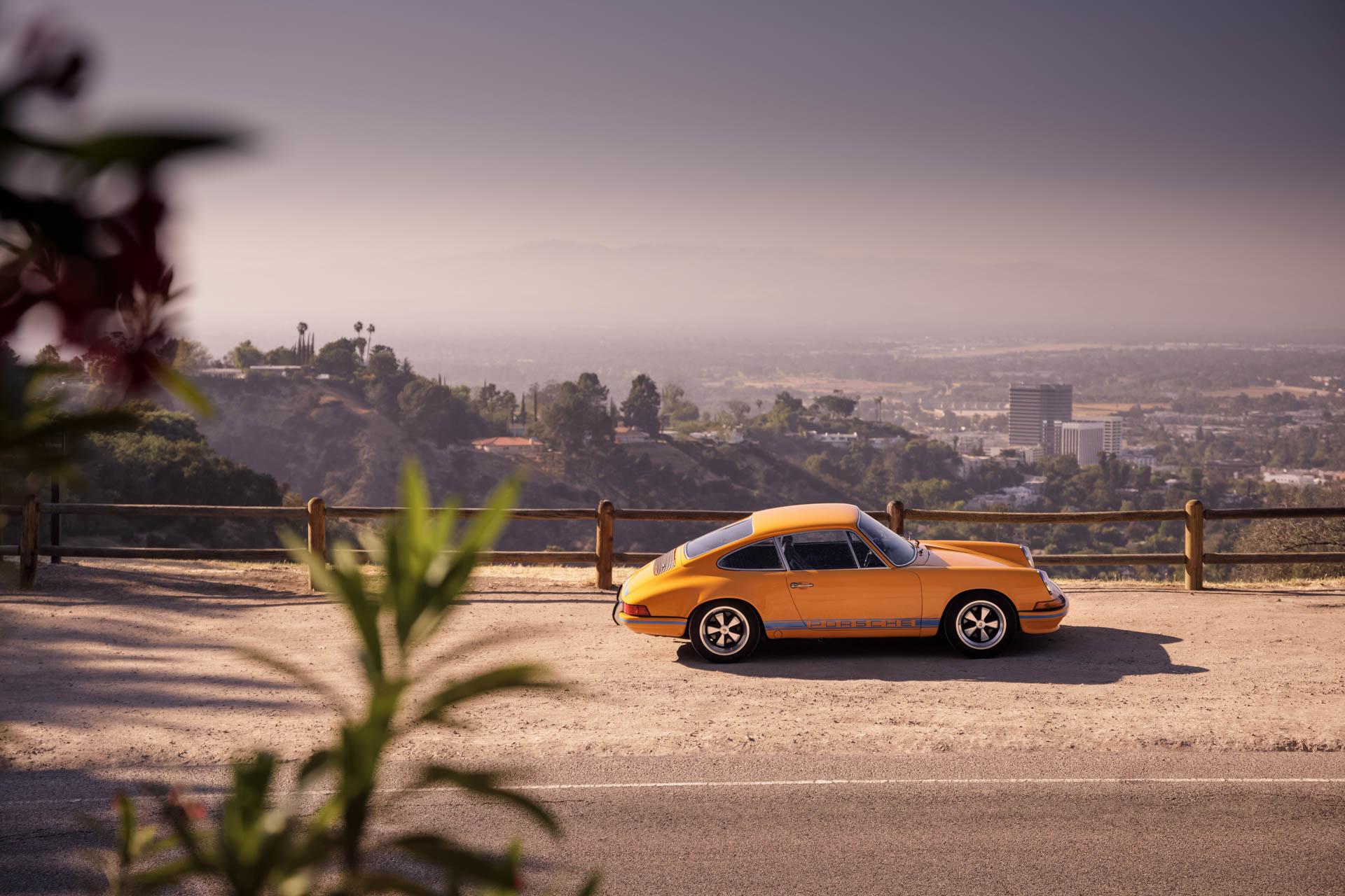 Porsche 911 in Los Angeles